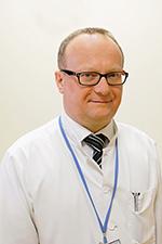 Dr n. med. Marcin Pasiarski prof. UJK - specjalista chorób wewnętrznych, hematolog