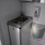 W cytobusie jest część diagnostyczna i pomieszczenie higieniczne, w którym pacjentka może się przygotować do badania