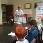19 września w Świętokrzyskim Centrum Onkologii odbyła się konferencja prasowa, na której dr Sławomir Okła, koordynator wojewódzki Ogólnopolskiego Programu Profilaktyki Nowotworów Głowy i Szyi przedstawił dziennikarzom założenia tegorocznej akcji profilaktycznej