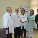 """Klinika Hematologii i Transplantacji Szpiku ŚCO z certyfikatem """"W trosce o pacjenta"""""""